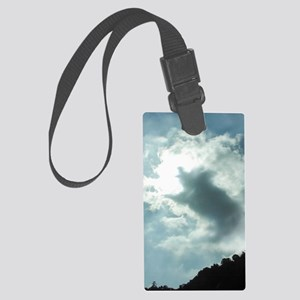 When Pigs Fly Large Luggage Tag