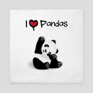 Baby Panda Queen Duvet