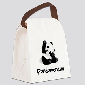 Baby Panda Canvas Lunch Bag