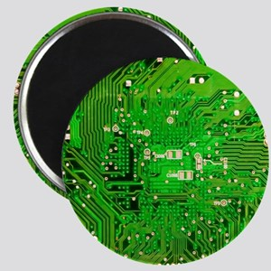 Circuit Board - Green Magnet