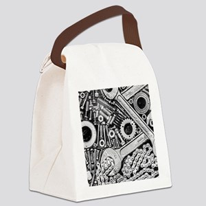 Clank! Canvas Lunch Bag