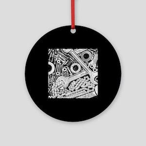 Clank! Ornament (Round)
