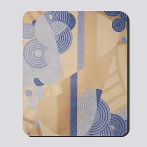 Art Deco Abstract Mousepad