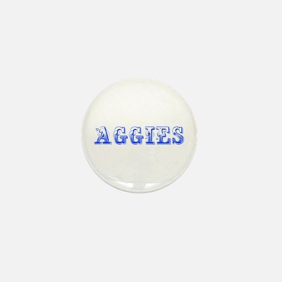 Aggies-Max blue 400 Mini Button