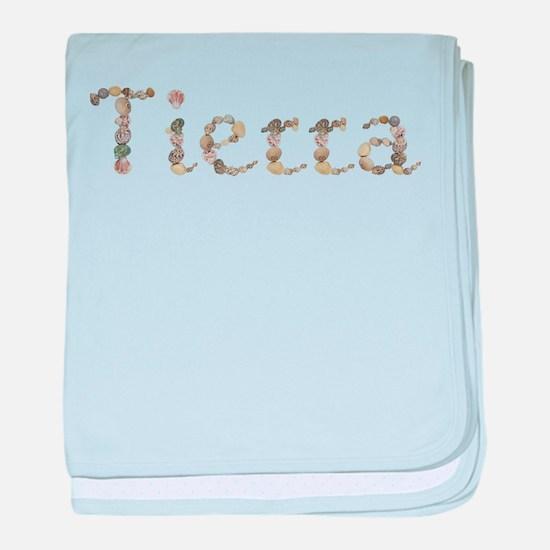 Tierra Seashells baby blanket