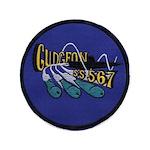 USS GUDGEON Button