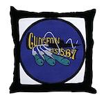 USS GUDGEON Throw Pillow