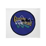USS GUDGEON Throw Blanket