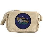 USS GUDGEON Messenger Bag