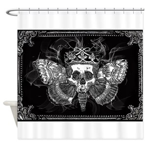 Skull Shower Curtains