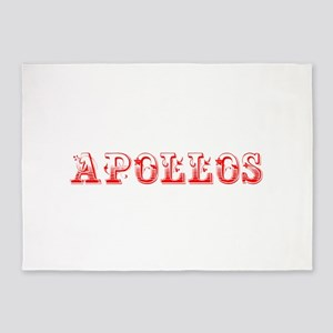 Apollos-Max red 400 5'x7'Area Rug