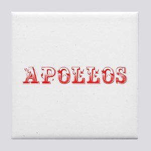 Apollos-Max red 400 Tile Coaster