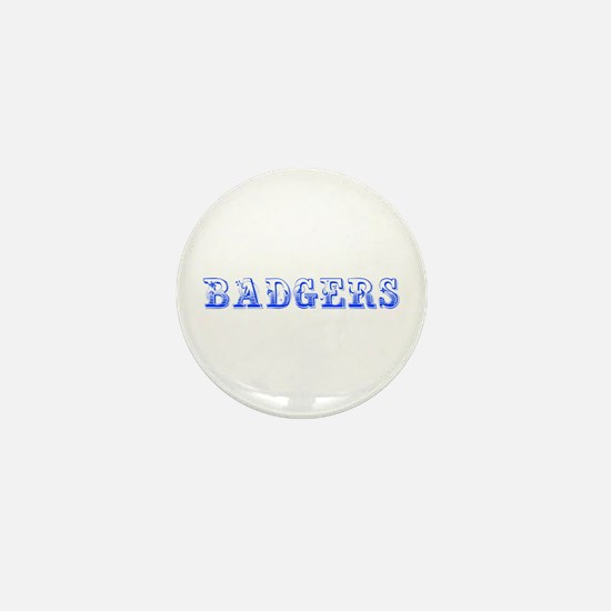 Badgers-Max blue 400 Mini Button