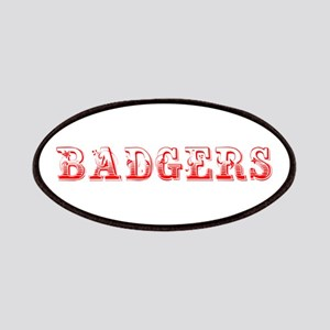 Badgers-Max red 400 Patch