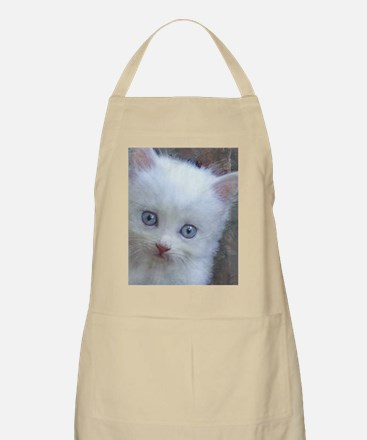 Blue-Eyed Kitten II Apron