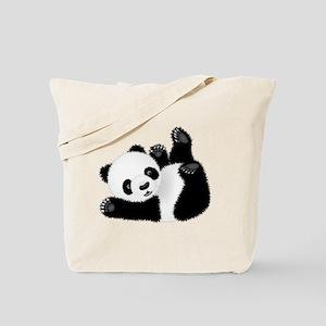 Baby Panda Tote Bag