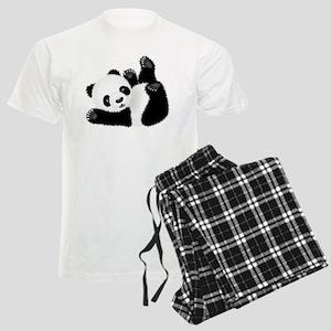 Baby Panda Men's Light Pajamas
