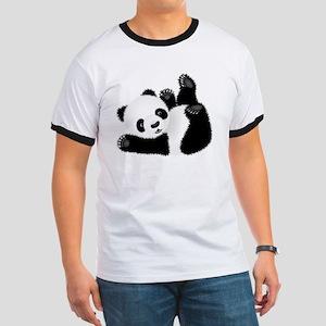 Baby Panda Ringer T
