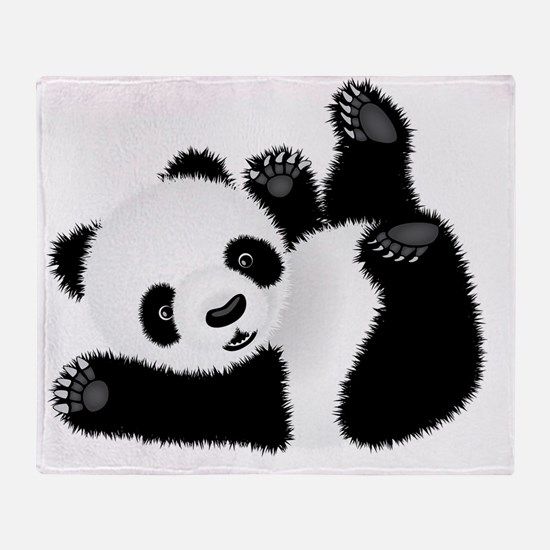 Baby Panda Throw Blanket