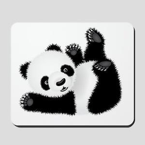 Baby Panda Mousepad