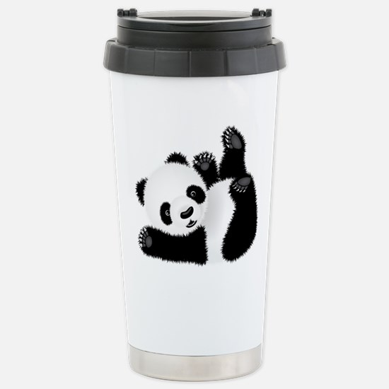 Baby Panda Stainless Steel Travel Mug