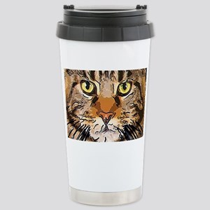 Majestic Cat Stainless Steel Travel Mug