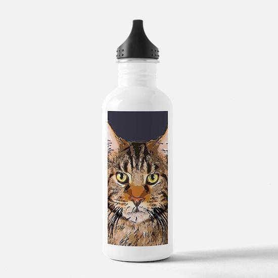 Majestic Cat Water Bottle