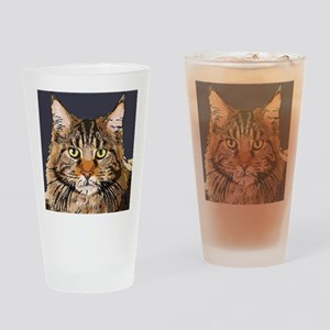 Majestic Cat Drinking Glass