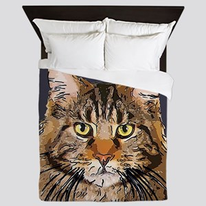 Majestic Cat Queen Duvet