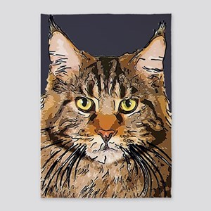 Majestic Cat 5'x7'Area Rug