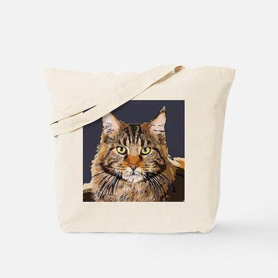 Majestic Cat Tote Bag