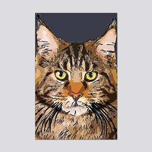 Majestic Cat Mini Poster Print
