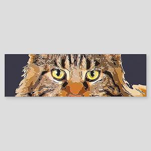 Majestic Cat Sticker (Bumper)