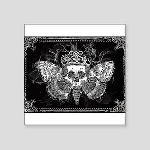 vintage mothman skull Sticker
