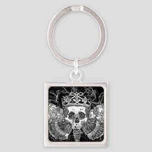 vintage mothman skull Keychains