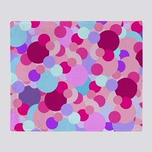 Bubbles Throw Blanket