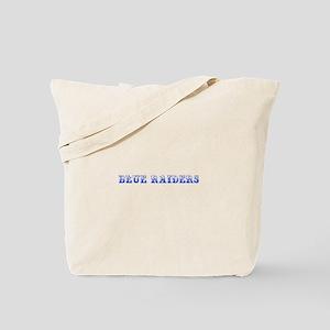 Blue Raiders-Max blue 400 Tote Bag