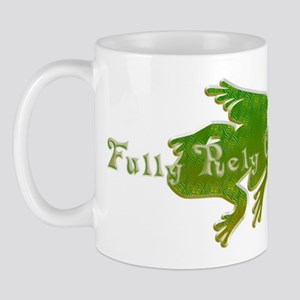Green Fancy Frog Mug