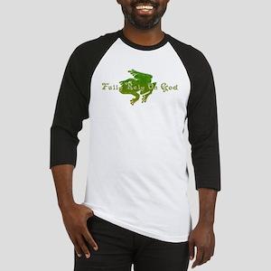 Green Fancy Frog Baseball Jersey