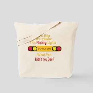4-flashinglights Tote Bag