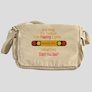 4-flashinglights Messenger Bag