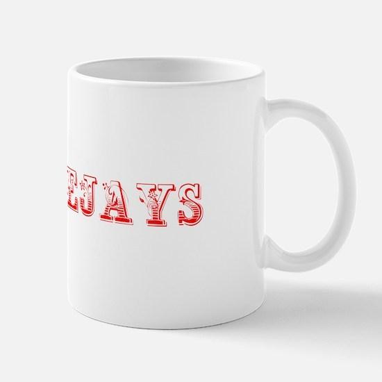 Bluejays-Max red 400 Mugs