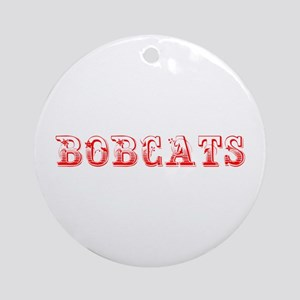 Bobcats-Max red 400 Ornament (Round)
