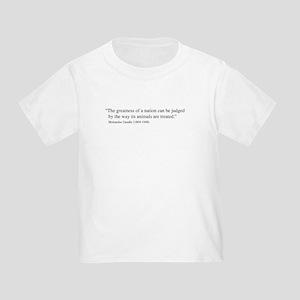 Gandhi Quote Toddler T-Shirt