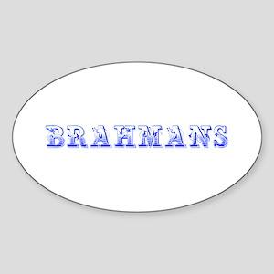 Brahmans-Max blue 400 Sticker