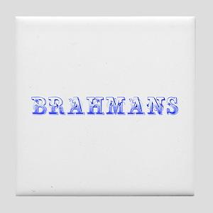 Brahmans-Max blue 400 Tile Coaster