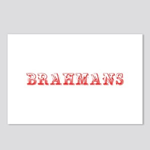 Brahmans-Max red 400 Postcards (Package of 8)