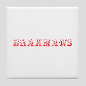 Brahmans-Max red 400 Tile Coaster