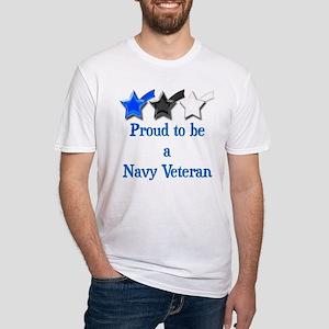 Navy Vet Fitted T-Shirt