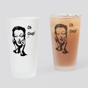 Oh snap. Drinking Glass